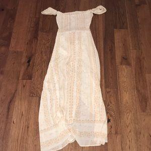 Maxi patterned dress